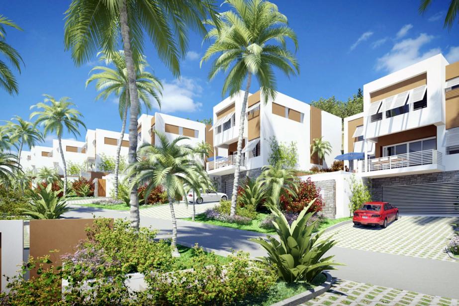 Groupe Lépine International construit 72 logements de villégiature... (PHOTO FOURNIE PAR RENÉ H.LÉPINE FILS)