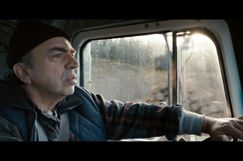 Julien Poulin dans une scène deCamion de Rafaël... (PHOTO FOURNIE PAR K FILMS AMÉRIQUE)