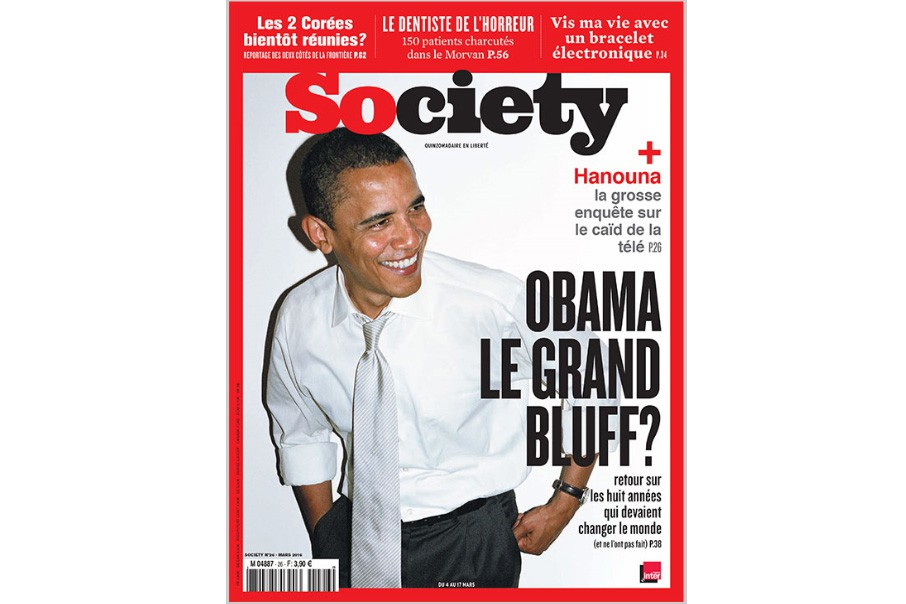 Society, un des derniers arrivés de la presse... (CAPTURE D'ÉCRAN)