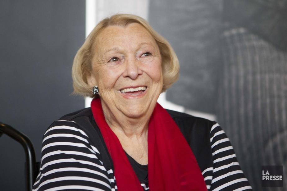 Au cours d'une entrevue, Mme Payette a dit... (Photo Olivier Pontbriand, archives La Presse)