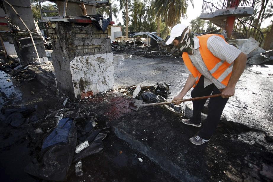 L'attaque a fait au moins 47 morts et 72 blessés. (AFP, Haidar Hamdani)