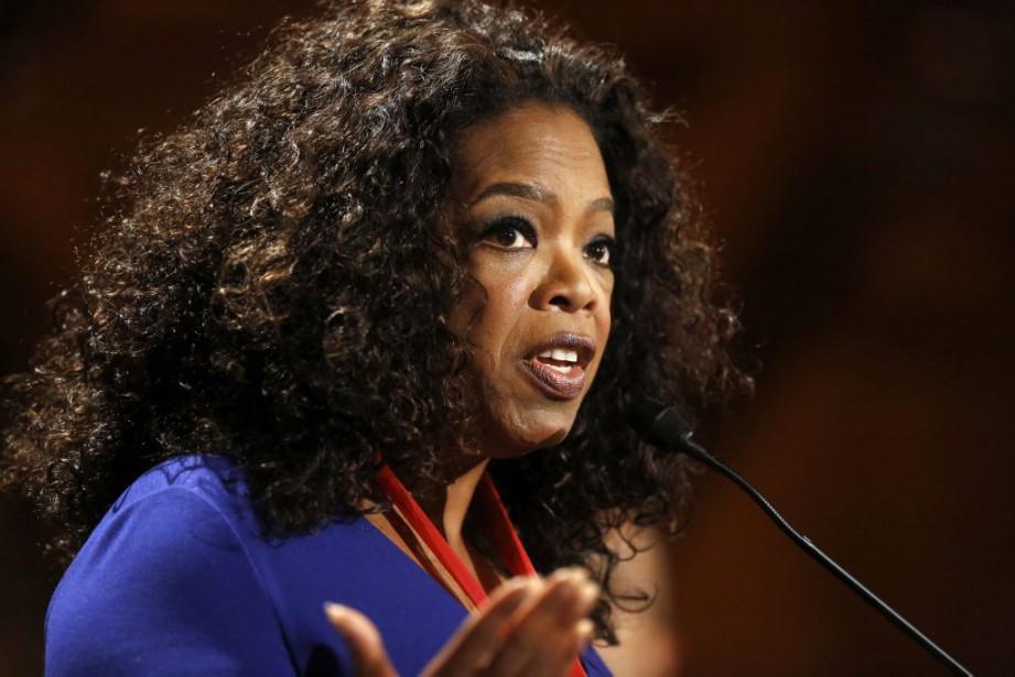 Oprah Winfrey... (Photo Steven Senne, archives AP)