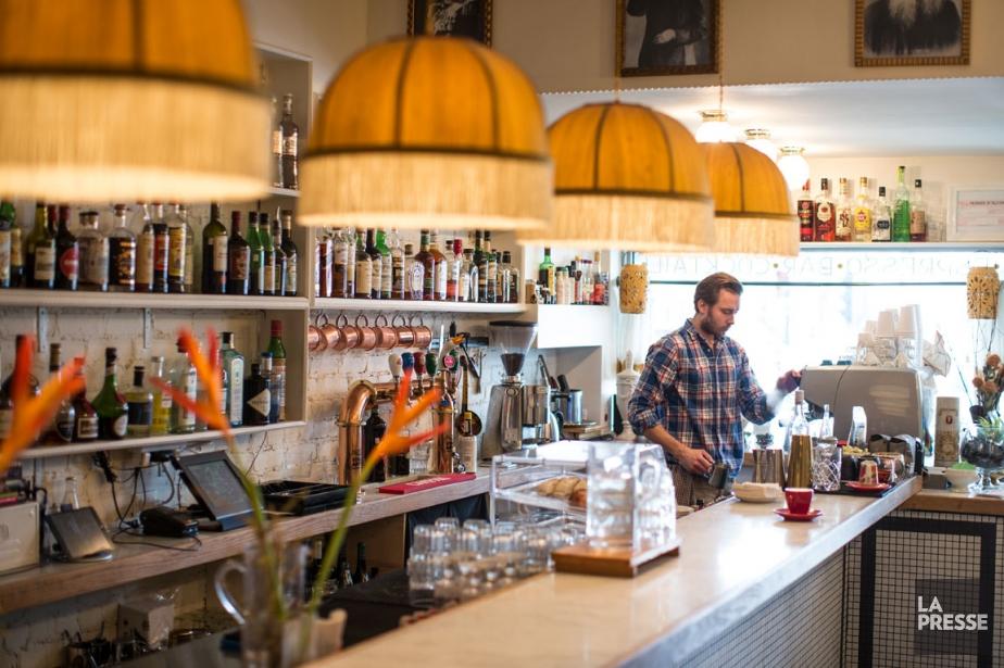 Depuis la mi-novembre, le minuscule bar de l'avenue... (PHOTO OLIVIER PONTBRIAND, LA PRESSE)