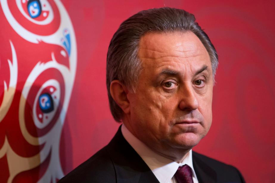 Le ministre russe des Sports, Vitaly Mutko.... (Photo Ivan Sekretarev, AP)