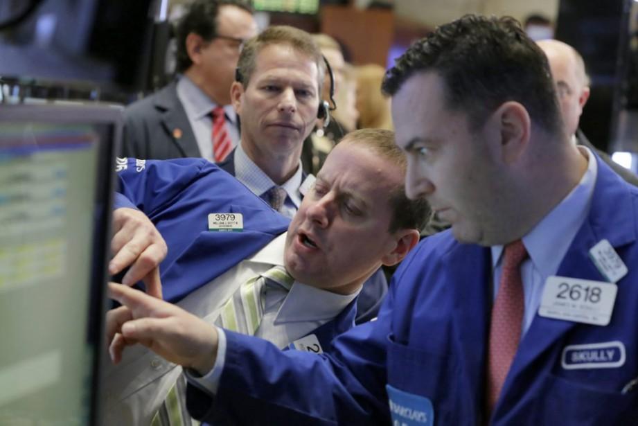 L'indice composé S&P/TSX a mis fin à une... (Photo Richard Drew, AP)