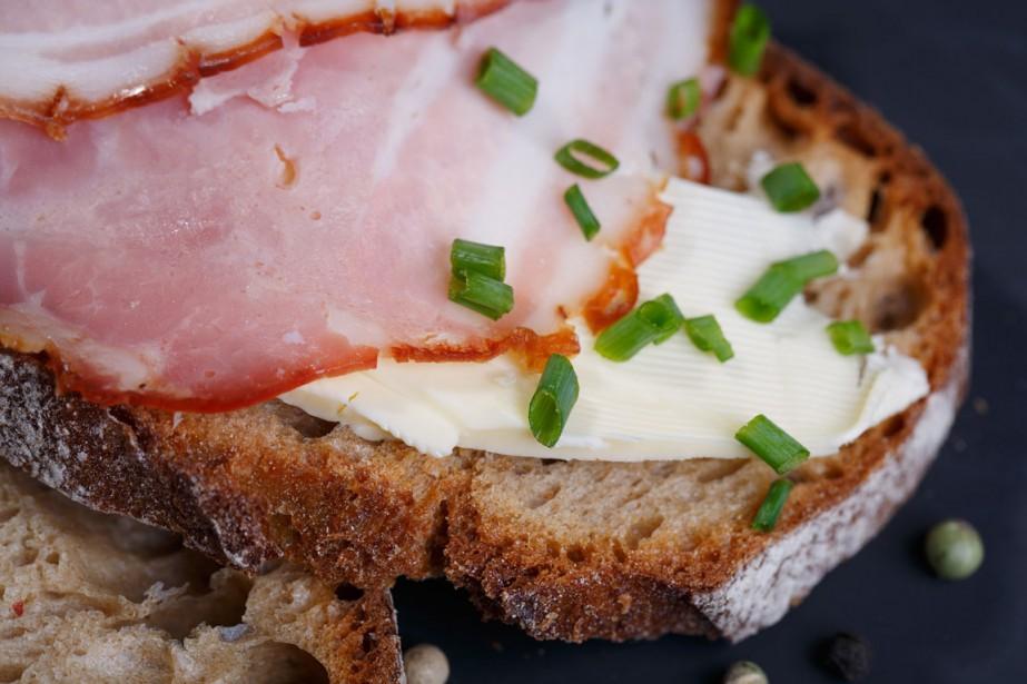 Le prix du jambon-beurre a augmenté de 3,67%... (PHOTO THINKSTOCK)