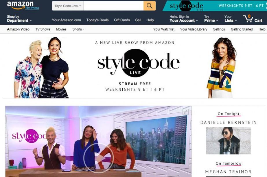 L'émission «Style Code Live», tournée à New York, sera diffusée tous les jours...