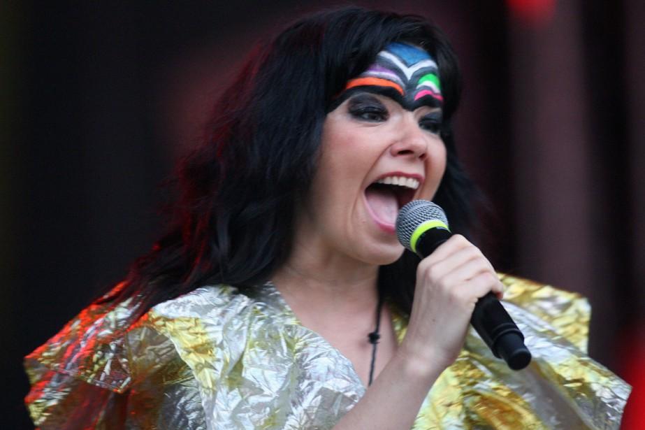 La chanteuse islandaiseBjörk a annoncé mardi qu'elle... (ARCHIVES AFP)