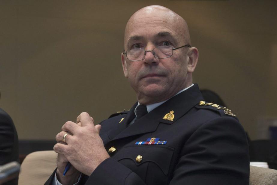 Le commissaire de la Gendarmerie royale du Canada,... (PHOTO ADRIAN WYLD, ARCHIVES LA PRESSE CANADIENNE)