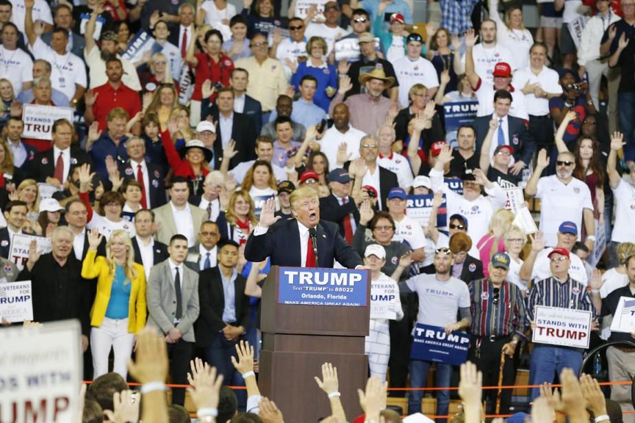 À plusieurs rassemblements depuis une réunion électorale à... (PHOTO BRYNN ANDERSON, ARCHIVES AP)