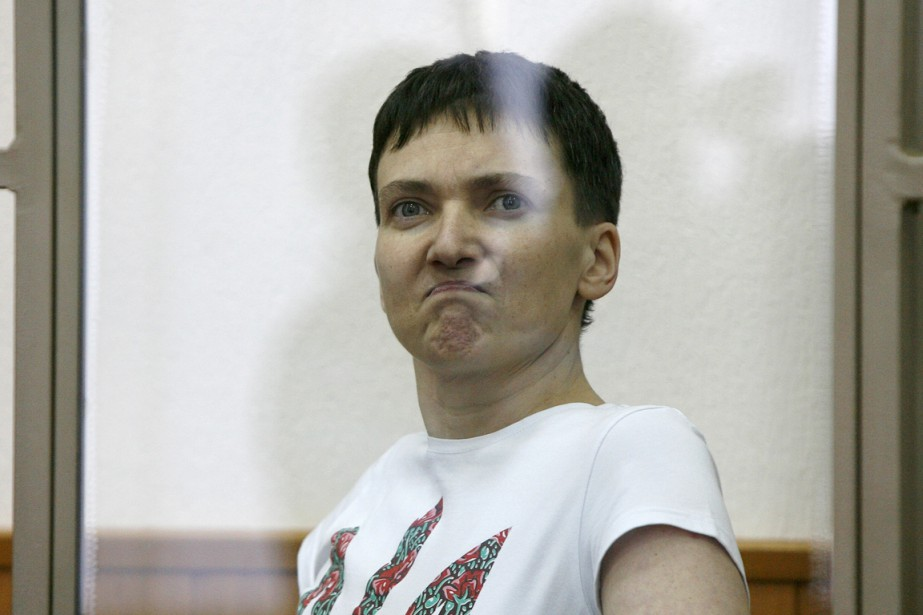 Nadia Savtchenko... (PHOTO SERGEI VENYAVSKY, ARCHIVES AFP)