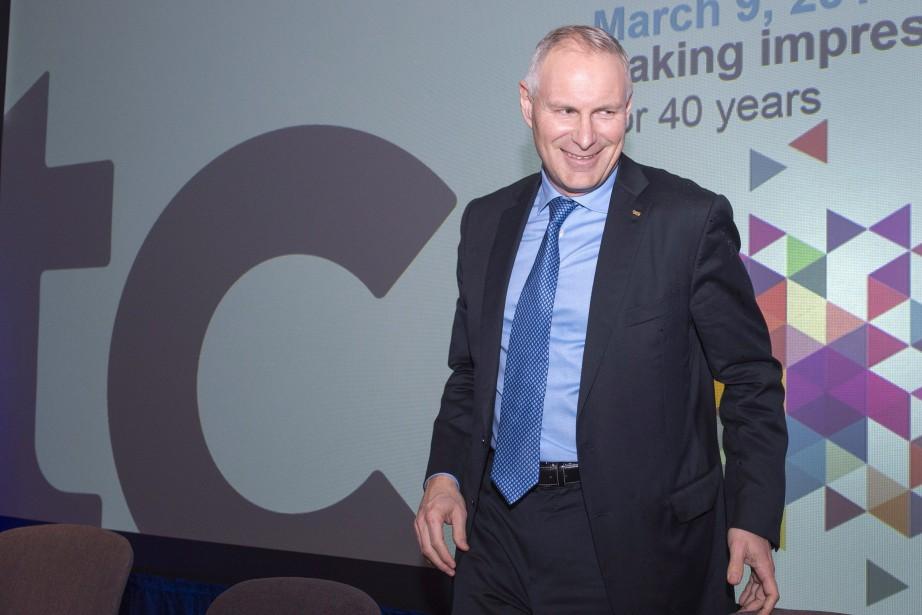 Le président et chef de la direction de... (PHOTO RYAN REMIORZ, ARCHIVES LA PRESSE CANADIENNE)