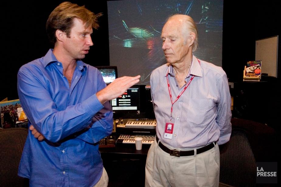 Le célèbre réalisateur et compositeur britannique sir George... (PHOTO MARTIN TREMBLAY, ARCHIVES LA PRESSE)