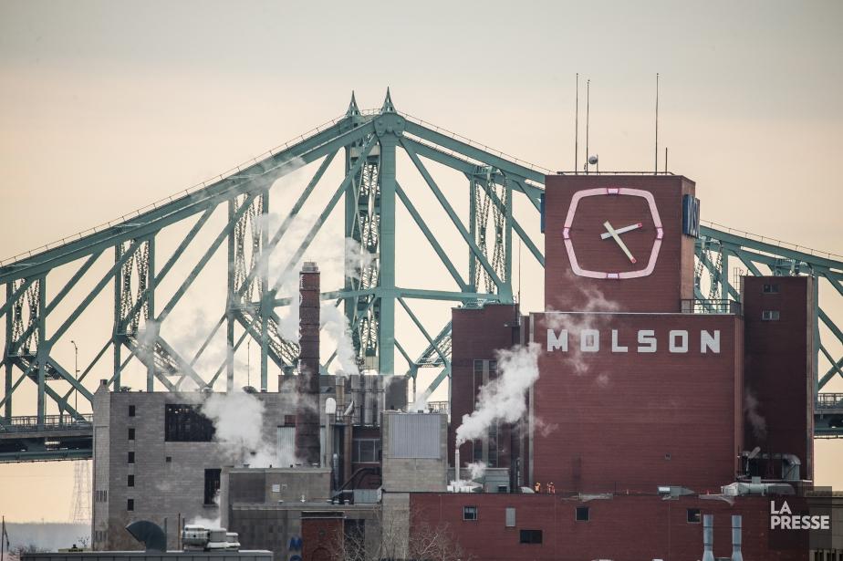 L'industrie brassicole montréalaise, dont la brasserie Molson est... (Photo Olivier Pontbriand, Archives La Presse)