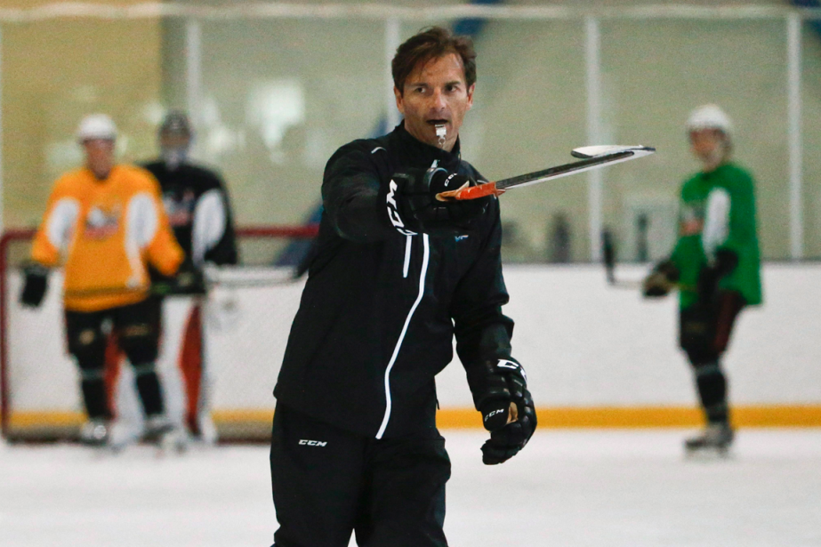 Aujourd'hui entraîneur-chef des Gulls de San Diego dans... (Photo Lenny Ignelzi, AP)