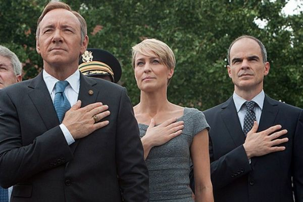 Kevin Spacey (Frank Underwood), Robin Wright (Claire Underwood)... (PHOTO FOURNIE PAR NETFLIX)