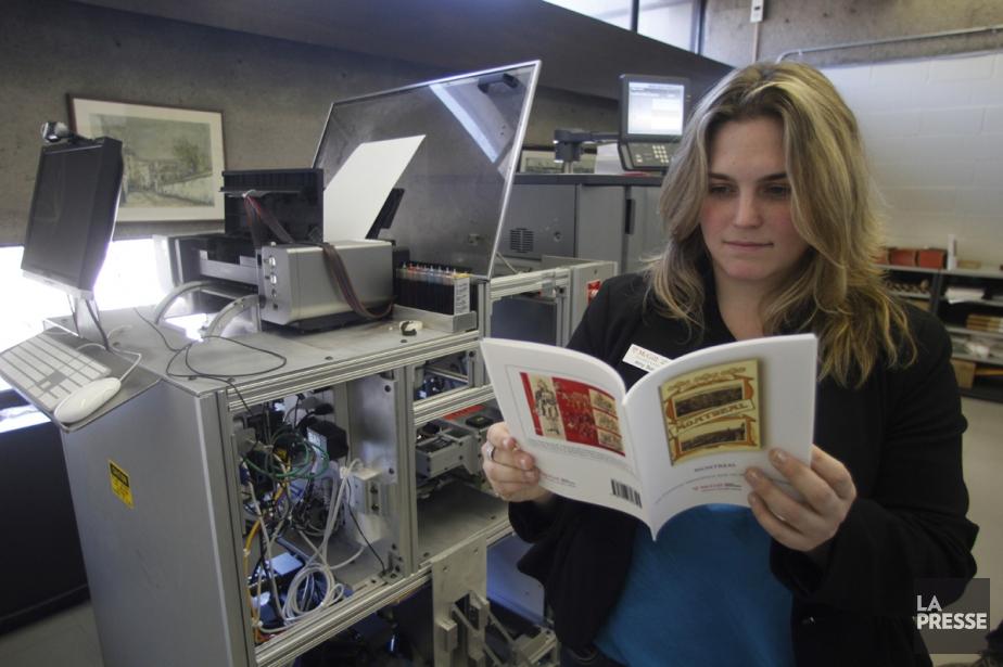 L'Espresso Book Machine... (PHOTO MARTIN CHAMBERLAND, ARCHIVES LA PRESSE)