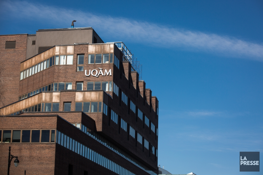 L'ensemble du réseau de l'Université du Québec affiche... (Photo Olivier PontBriand, archives La Presse)