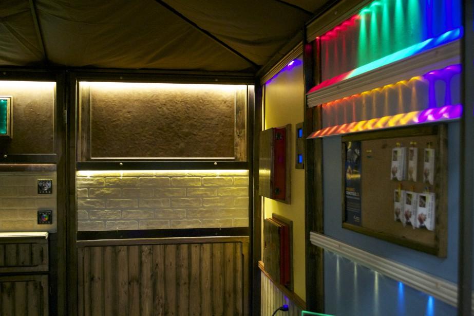 Ambiance domotique offre un service d'éclairage intelligent. (Mélissa Bradette)
