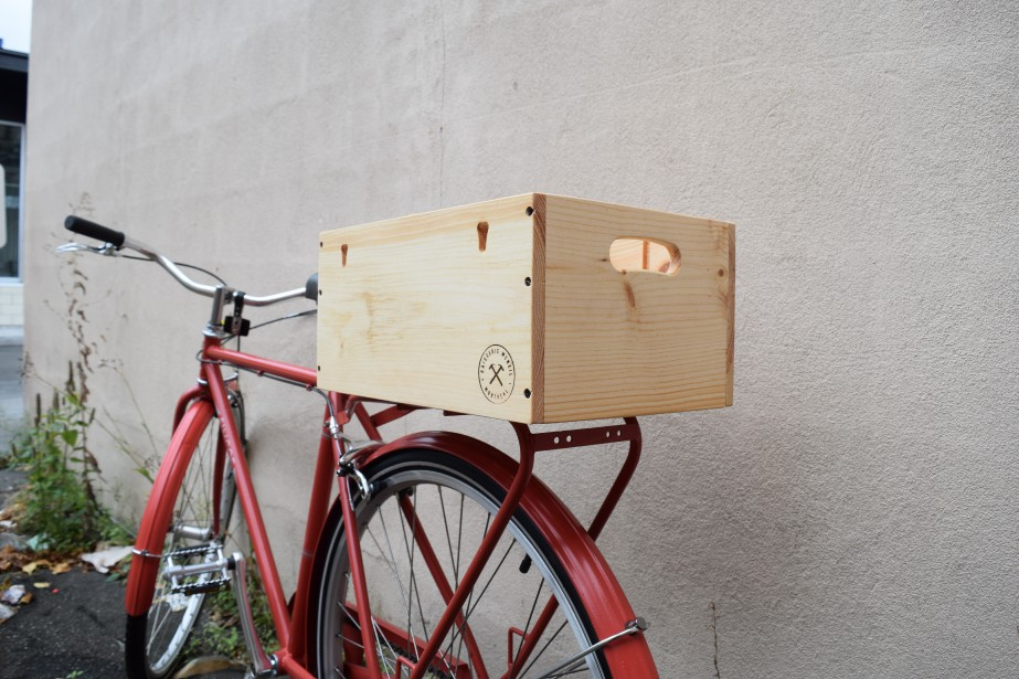 Caisse à vélo V2. (Caisserie McNeil)
