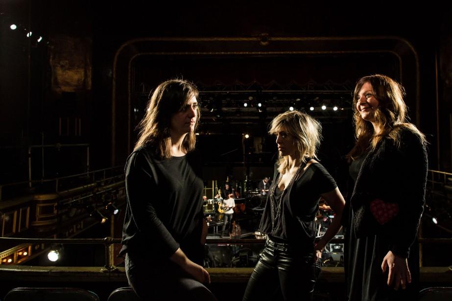 Marie-Ève Roy, Laurence Nerbonne et Marie-Annick Lépine, connues... (PHOTO EDOUARD PLANTE-FRéCHETTE,LA PRESSE)