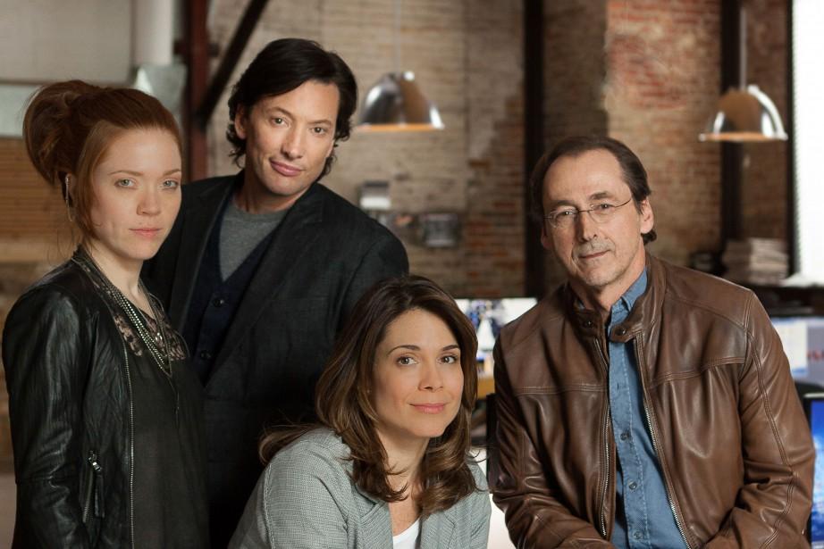Catherine Bérubé, Danny Gilmore, Julie Perreault et Luc... (PHOTO fournie par la production)