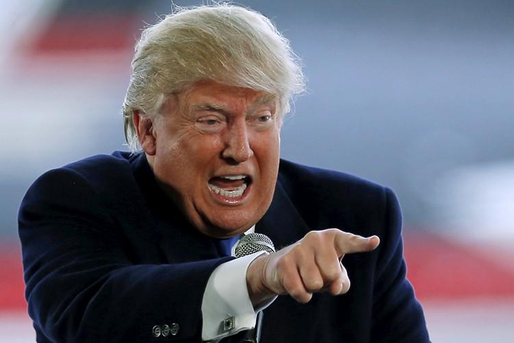 À plusieurs égards, Donald Trump mène aujourd'hui la... (PHOTO REUTERS)