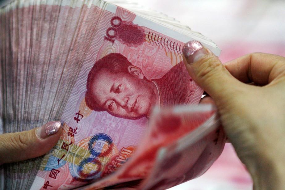 Les banques chinoises ont accordé en janvier des... (PHOTO ARCHIVES AP/CHINATOPIX)
