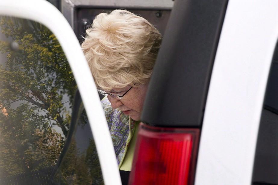 Melissa Ann Shepard,surnommée «la veuve noire de l'Internet».... (Photo La Presse Canadienne)