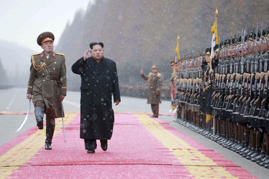 Kim Jong-Un... (PHOTO REUTERS/KCNA)