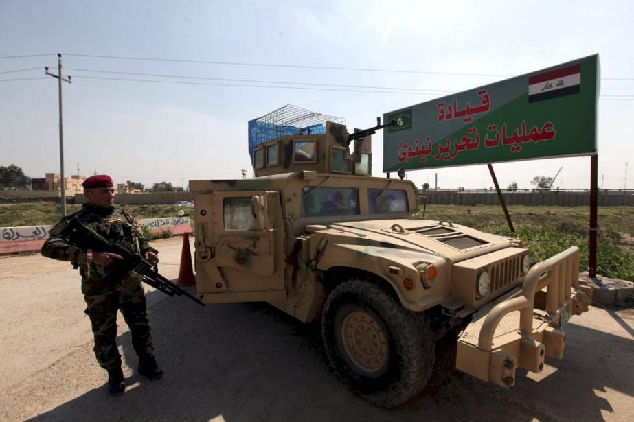 Un soldat de l'armée irakienne.... (PHOTO AZAD LASHKARI, ARCHIVES REUTERS)