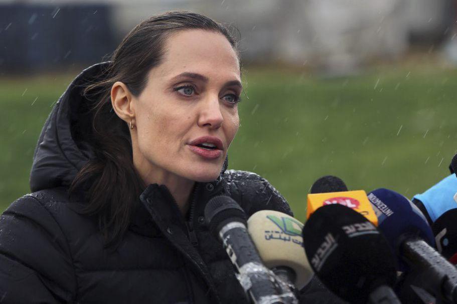 Angelina Jolie a demandé «aux gouvernements dans le... (PHOTO AP)
