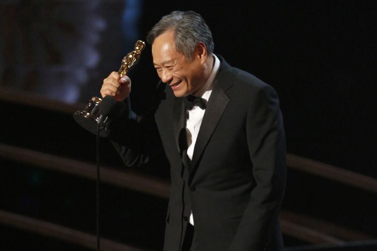 Ang Lee a remporté l'Oscar du Meilleur réalisateur... (PHOTO REUTERS)
