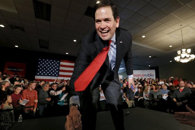 Marco Rubio est, quoi qu'il en dise, un... (PHOTO REUTERS)
