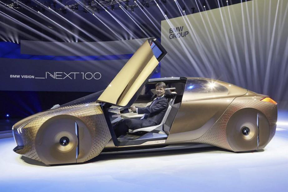 Admirable BMW mise sur le luxe et la voiture autonome XA-69