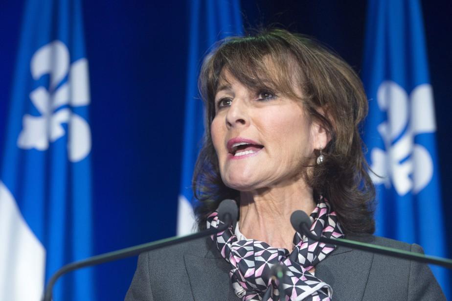 La ministre de l'Immigration, Kathleen Weil, a présenté... (PHOTO RYAN REMIORZ, LA PRESSE CANADIENNE)