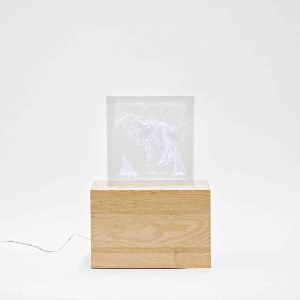 La lampe de table Oslo a été conçue par Martin Journot. (Photo fournie par L'Objet)