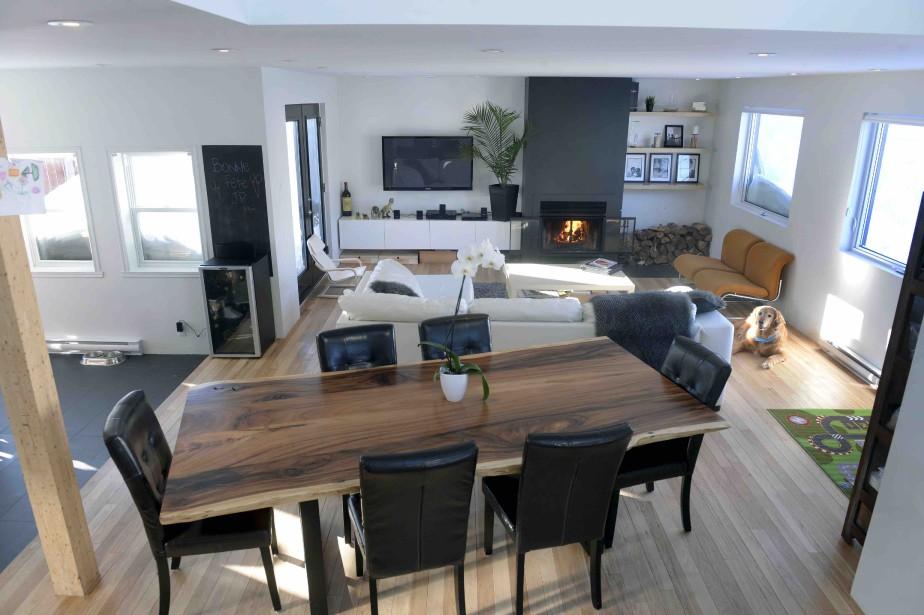 Les propriétaires ont investi 200 000 $ pour mettre la maison à leur goût. (Le Soleil, Jean-Marie Villeneuve)