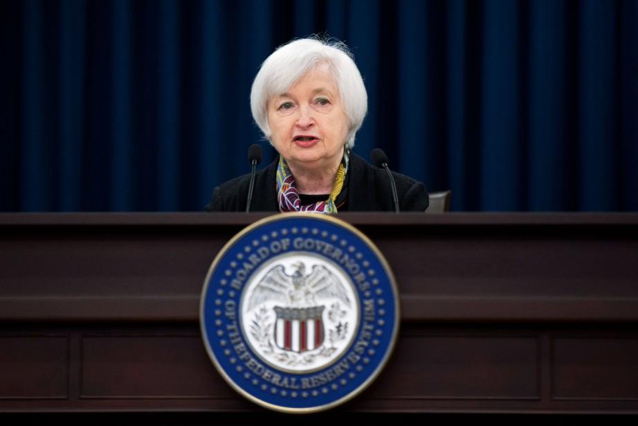 La présidente de la Réserve fédérale américaine, Janet... (PhotoManuel Balce Ceneta, Associated Press)