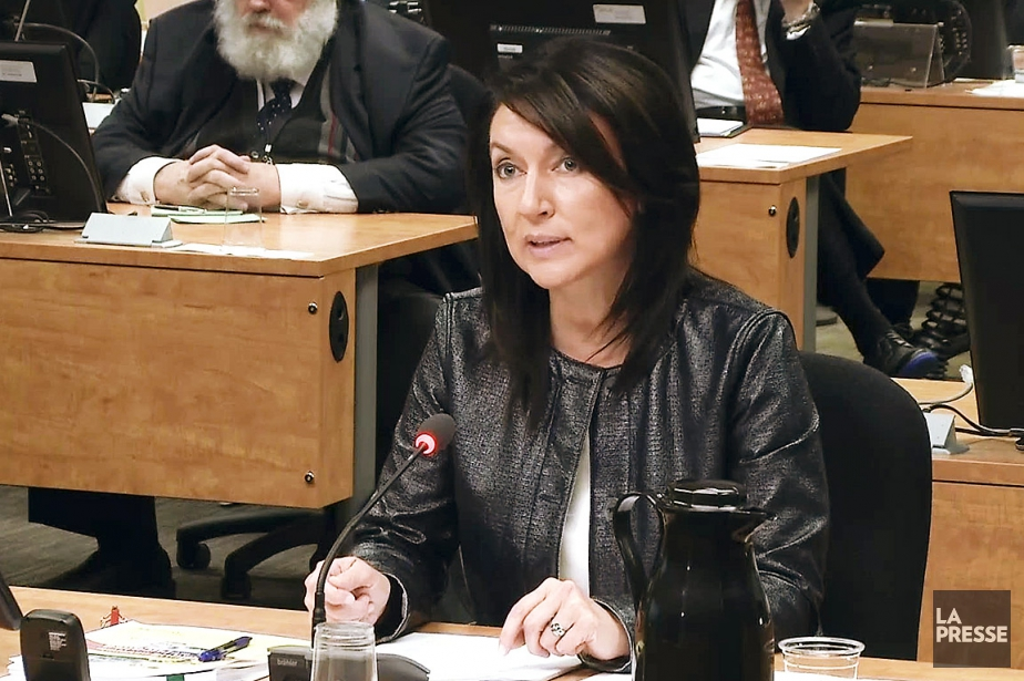 Nathalie Normandeau, ex-ministre libérale, à la Commission Charbonneau... (ARCHIVES LA PRESSE)