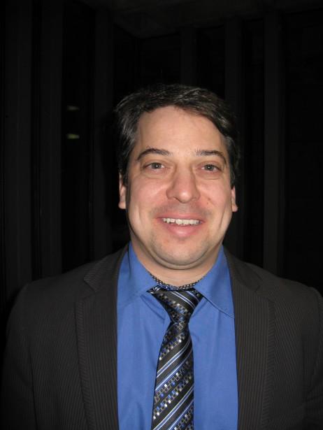 François Roussy, maire de Gaspé de 2005 à 2013, et ex-employé au bureau de circonscription du député de Gaspé, Gaétan Lelièvre (Photothèque Le Soleil)