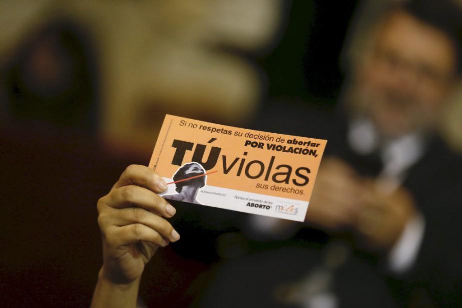 L'avortement était totalement interdit au Chili depuis la... (PHOTO RODRIGO GARRIDO, REUTERS)