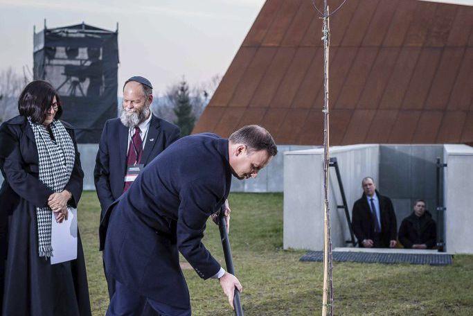 Le musée a été inauguré jeudi à Markowa... (PHOTO AFP)