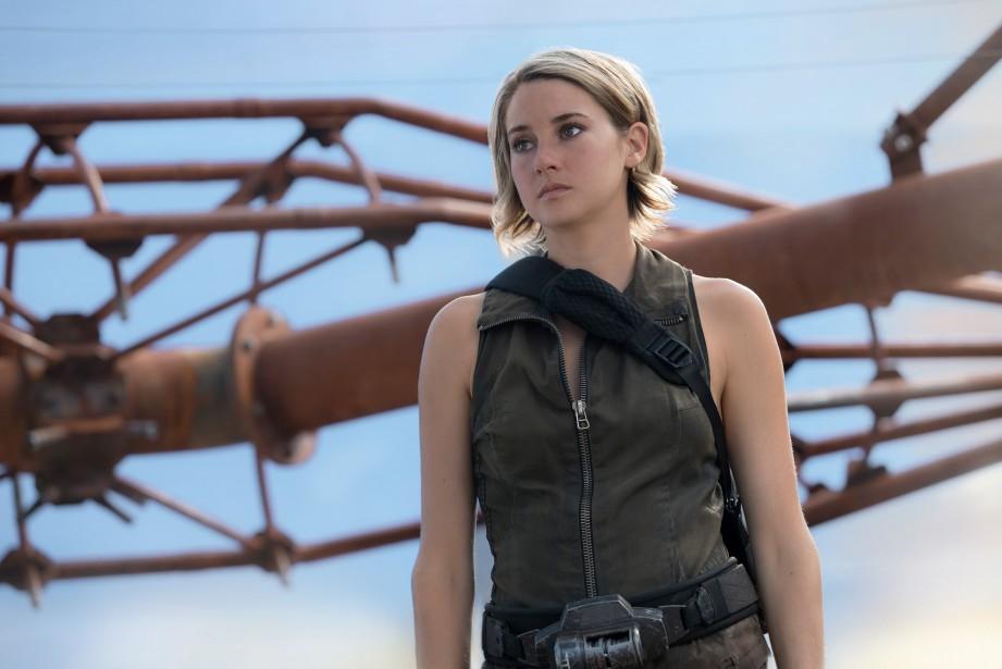 Shailene Woodley dans une scène du filmThe Divergent... (PHOTO FOURNIE PAR LES FILMS SÉVILLE)