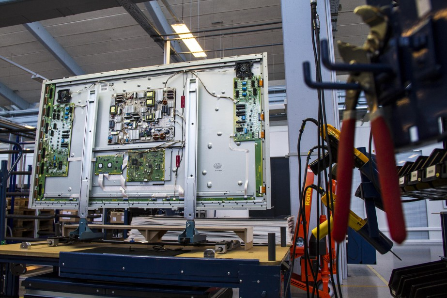 Le partenariat avec LG, dont les usines produisent... (Photo Freya Ingrid Morales, Archives Bloomberg)