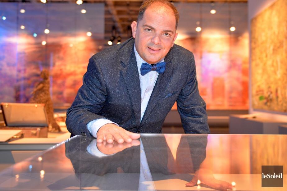 Stéphan La Roche est directeur général des Musées... (Photo Pascal Ratthé, Archives Le Soleil)