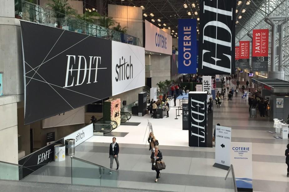 Plusieurs salons commerciaux, dont Edit et Moda, se... (PHOTO FOURNIE PAR LE CCMQ)