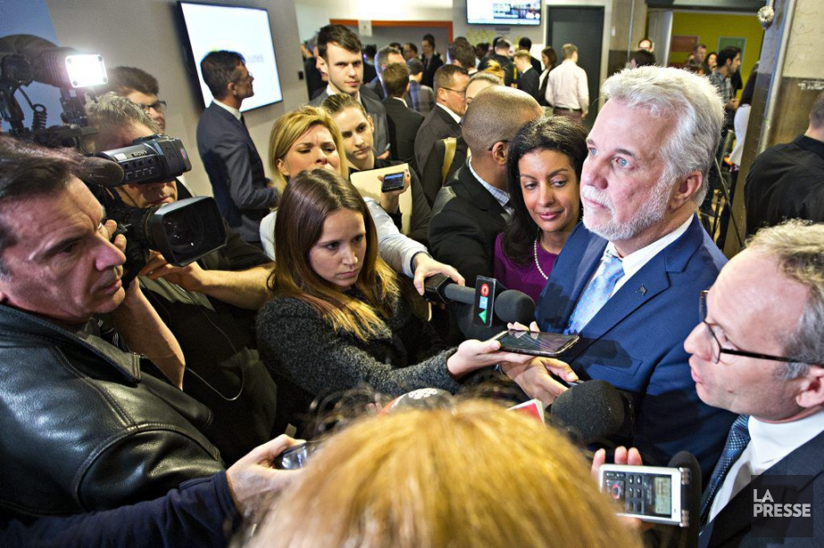Les accusations de complot, de fraude envers le... (PHOTO PATRICK SANFAÇON, LA PRESSE)