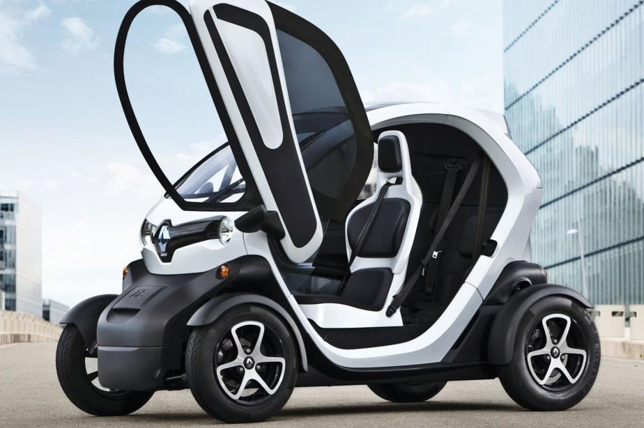 La Renault Twizy sera commercialisée au Canada dans... (Image fournie par Renault)
