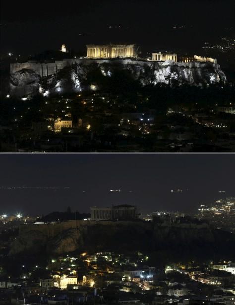 Le Parthenon, en Grèce (Agence France-Presse)